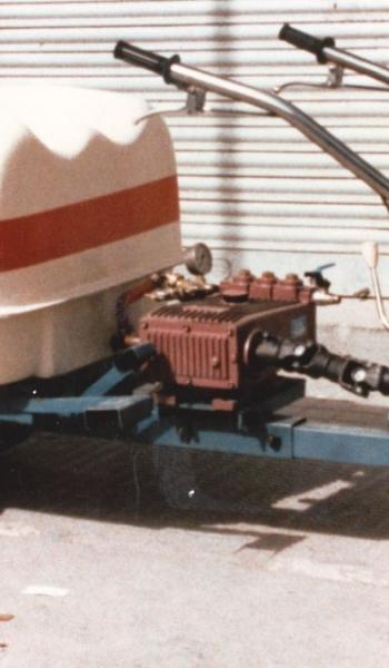 MODELO 5-M-12 CON CUBA DE PULVERIZAR